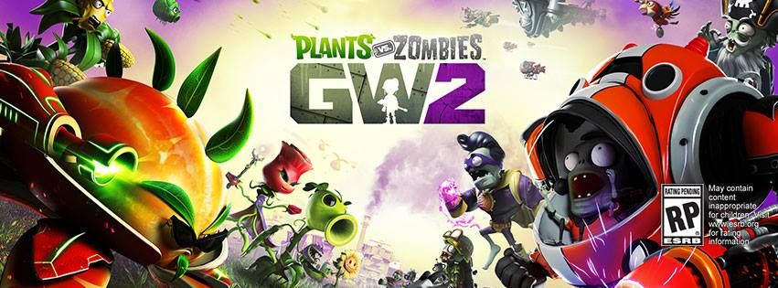 Plants Vs Zombies Garden Warfare 2 Trailer Gameplay New