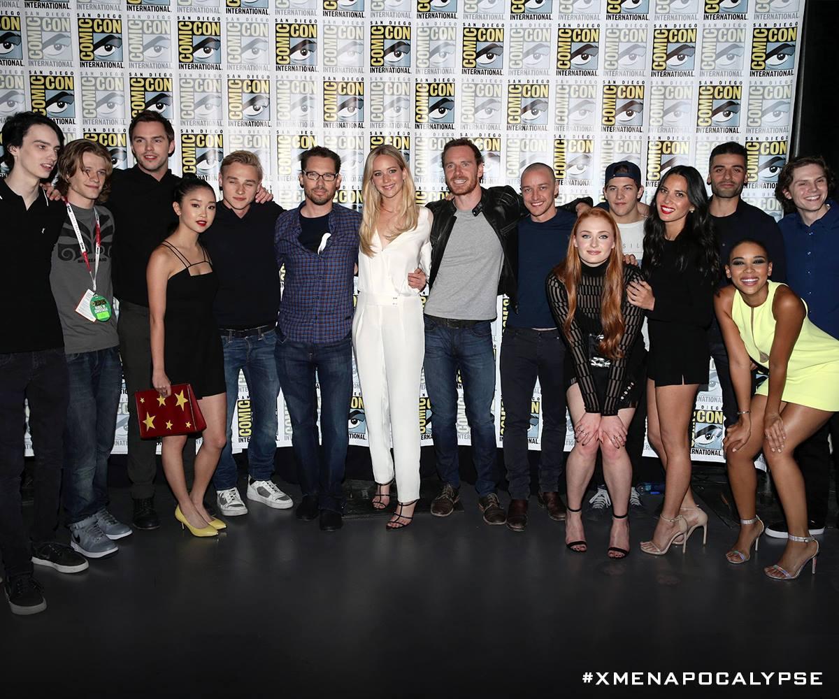 X-Men Apocalypse news: new cast and set photos released ...