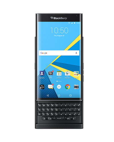 BlackBerry Priv news: BlackBerry's first Android phone ties with