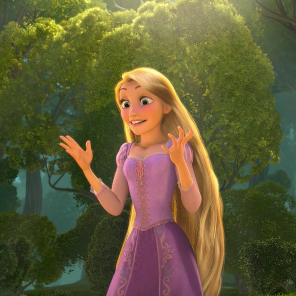 Frozen anna rapunzel