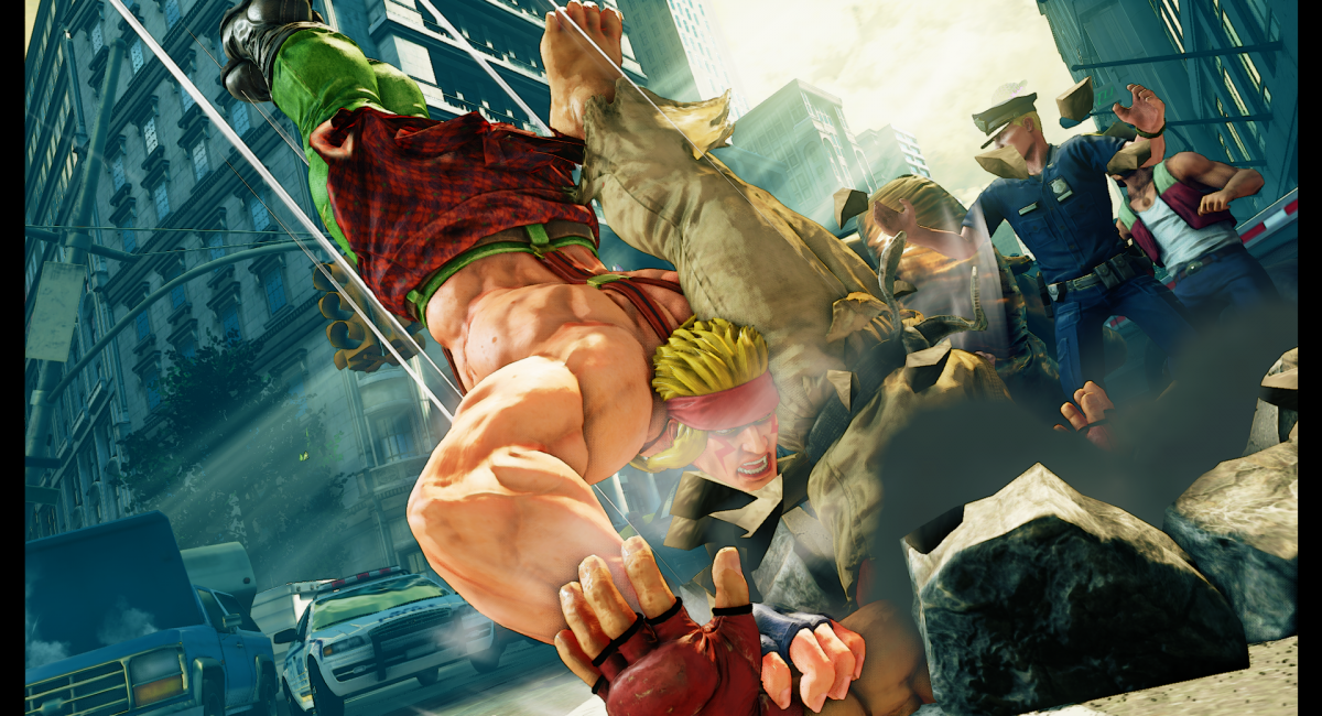 Street Fighter V Dlc News Alex To Come With March Update Skills