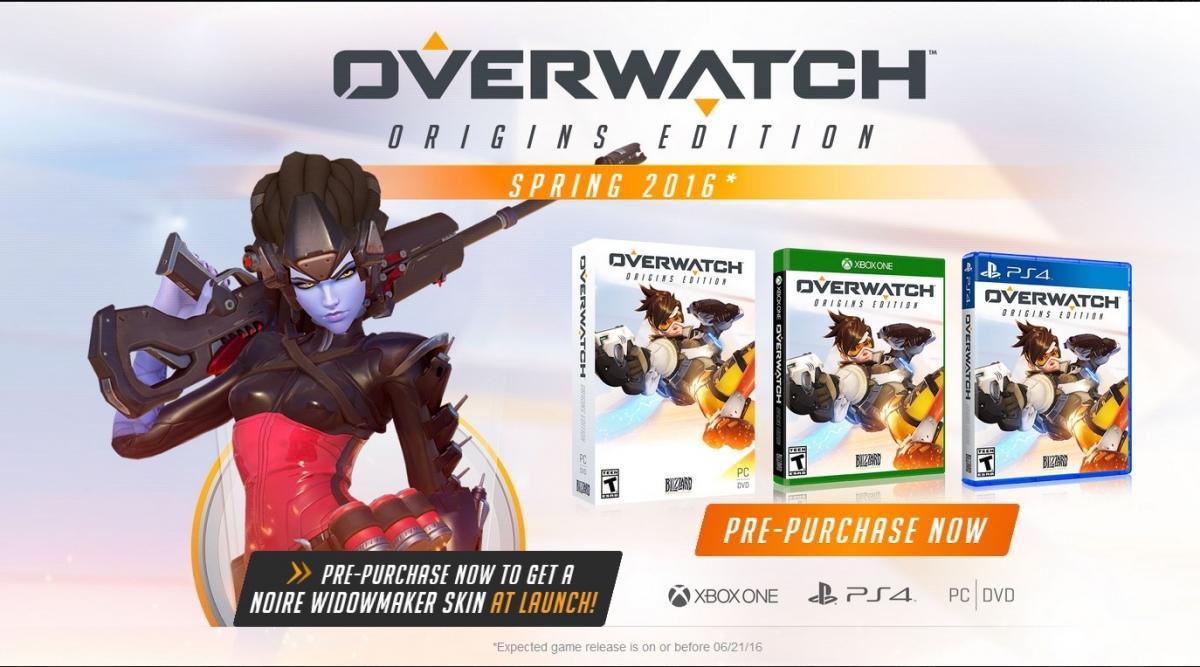Amazon.com: Overwatch - Origins Edition - PC: Video Games