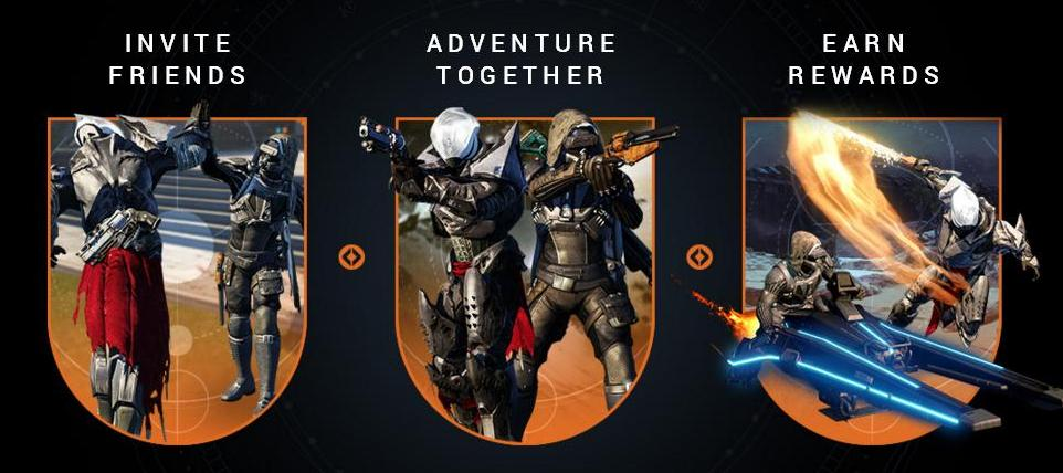 Destiny Dance Gif: 'Destiny' Game News: Bungie Explains New 'Refer-a-Friend
