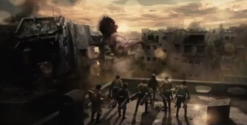 Attack on Titan live-action movie: Two-part theatrical ...
