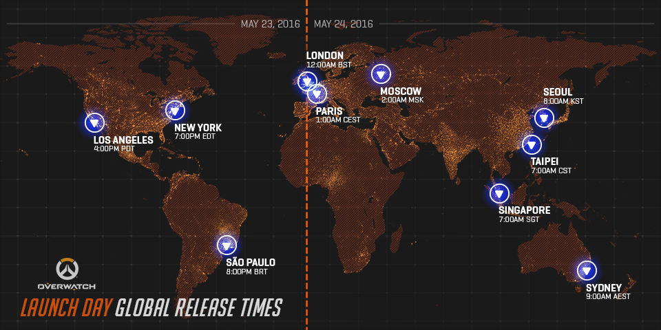 Overwatch' release date: when game servers will be online