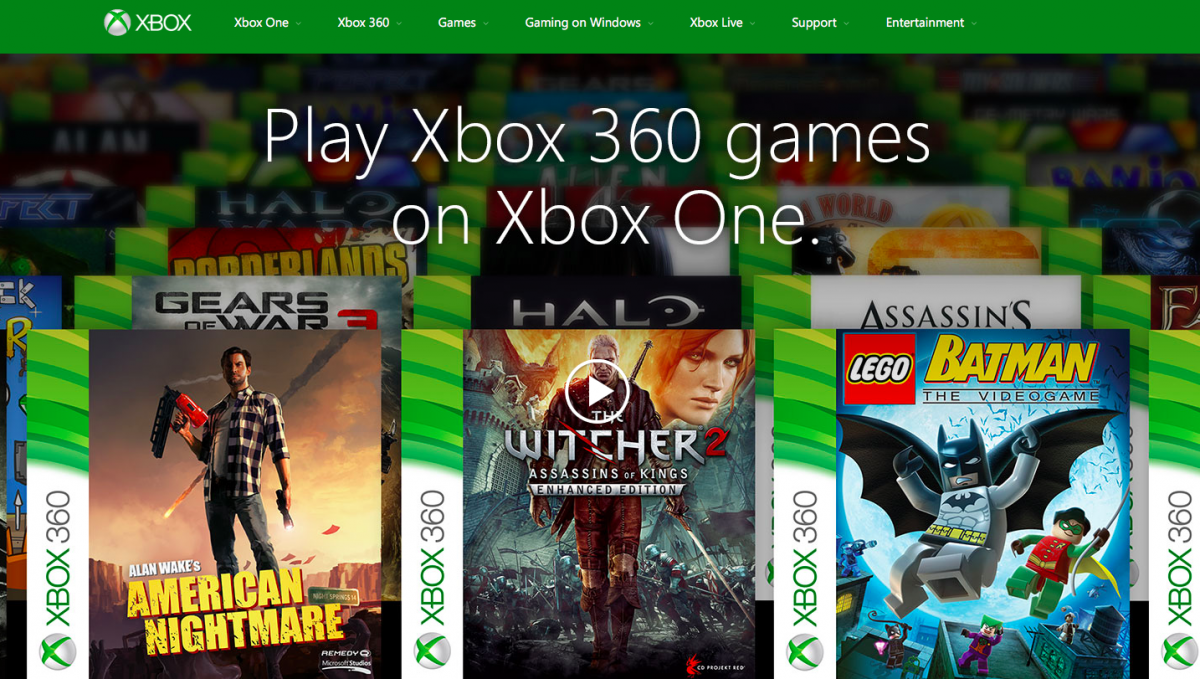 Xbox One Backwards Compatibility news: Additional games