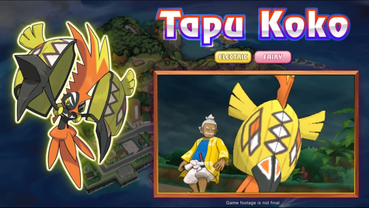 Pokmon Sun And Moon Gamepllay Characters New Unveiled In Pokemon X Electrical Plant A
