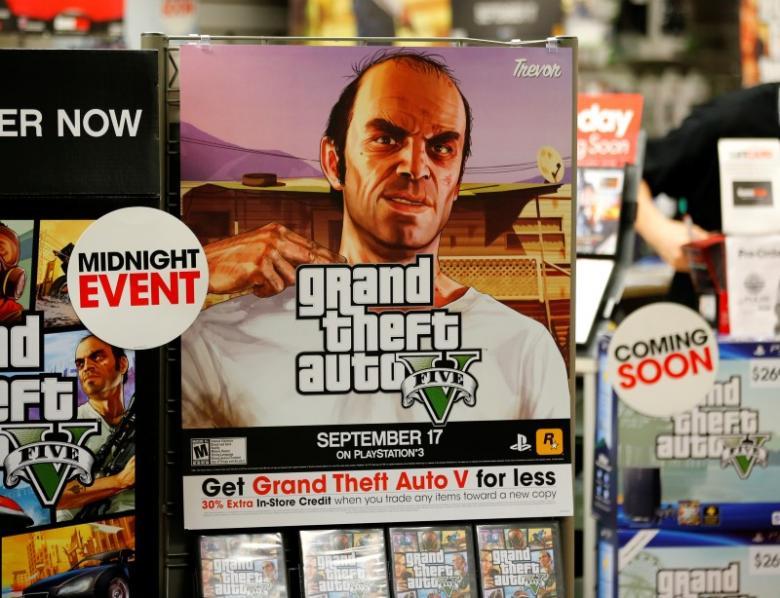 Grand theft auto 5 release date in Hamilton