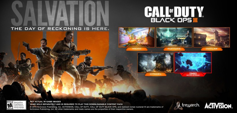 Call Of Duty Black Ops 3 Dlc Release Date News Salvation
