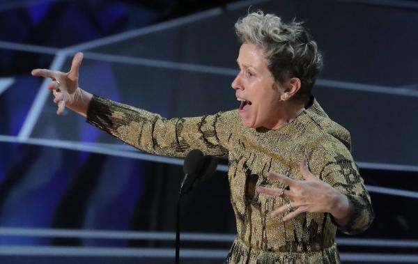 Man accused of stealing Frances McDormand's Oscar will fight charge: Lawyer